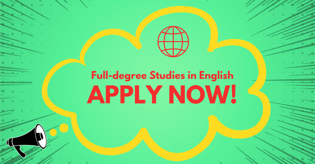 Master studies in English